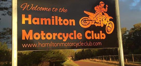 HMCC PE2018 sign post