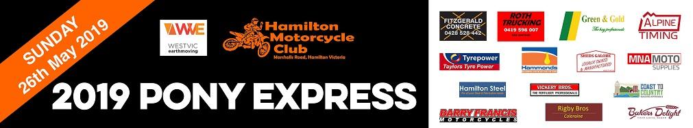 Hamilton Pony Express Web Banner 2019 sm
