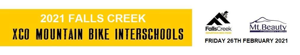 2021 MTB Falls Creek Interschools Banner sm